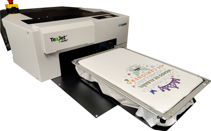 DTG printing machine